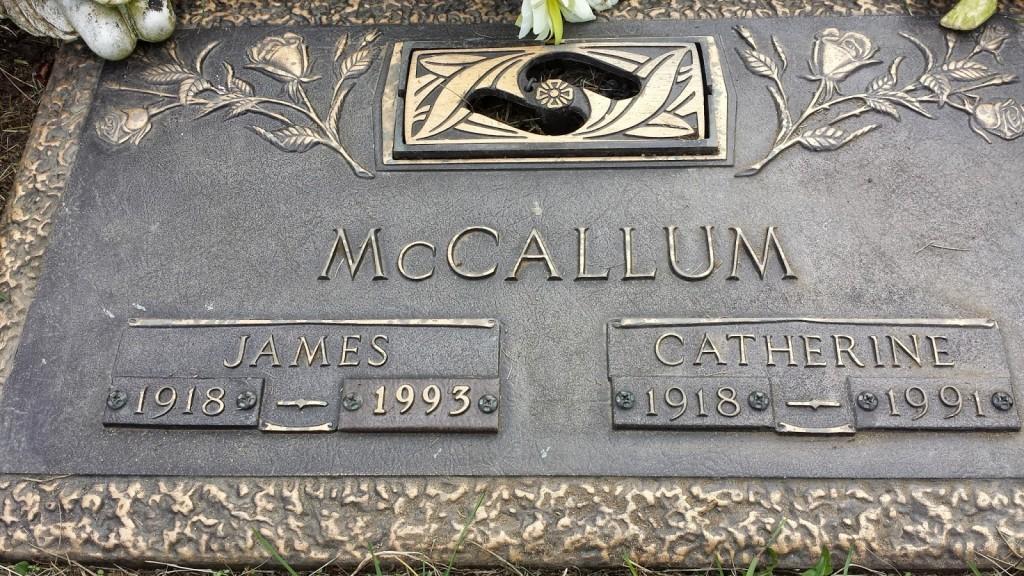 Catherine and James McCallum
